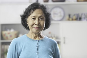 old-asian-woman